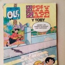 Tebeos: ZIPI Y ZAPE Y TOBY - COLECCIÓN OLÉ - 1A EDICIÓN 1983. Lote 278395513