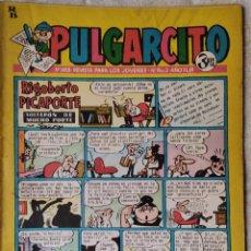 Tebeos: PULGARCITO, Nº 1655 - BRUGUERA 1963. Lote 278582643