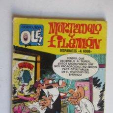 Tebeos: OLE MORTADELO Y FILEMON , Nº 90 , DISPARATES A GOGO , NUMERO EN LOMO, 2ª EDICION 1975 ARX124. Lote 278604278