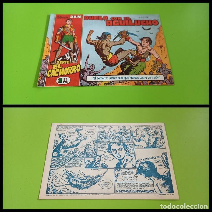 EL CACHORRO Nº 112 -ORIGINAL - EXCELENTE ESTADO (Tebeos y Comics - Bruguera - El Cachorro)