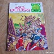 Tebeos: JOYAS LITERARIAS JUVENILES Nº 51 AGUA DE FUEGO 15 PTS 1972 ¡BUEN ESTADO!. Lote 278819693