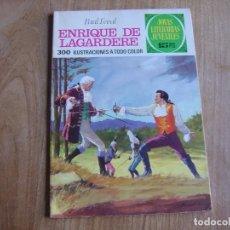 Tebeos: JOYAS LITERARIAS JUVENILES Nº 27 ENRIQUE DE LAGARDERE.15 PTS 1971 ¡BUEN ESTADO!. Lote 278821233