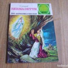 Tebeos: JOYAS LITERARIAS JUVENILES Nº 106. BERNARDETTE. 15 PTS 1974 ¡BUEN ESTADO!. Lote 278825578