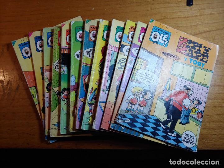 LOTE DE 12 COMICS DE OLE DE ZIPI Y ZAPE TODOS DIFERENTES (Tebeos y Comics - Bruguera - Ole)