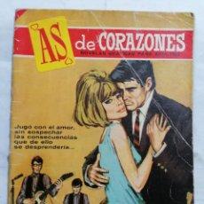 Tebeos: AS DE CORAZONES - MENTIRAS BAJOEL SOL, EDITORIAL BRUGUERA 1966, EJEMPLAR GRATUITO. Lote 279355193