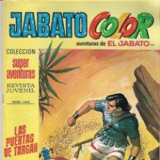 Tebeos: JABATO COLOR. 1ª ÉPOCA. Nº 116 LAS PUERTAS DE TARGAH. 8 PESETAS. Lote 279355778