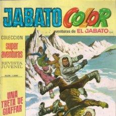 Tebeos: JABATO COLOR. 1ª ÉPOCA. Nº 104 UNA TRETA DE GIAFFAR. 8 PESETAS. Lote 279356773