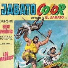 Tebeos: JABATO COLOR. 1ª ÉPOCA. Nº 100 LOS MARAKIS . 8 PESETAS. Lote 279358763