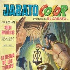 Tebeos: JABATO COLOR. 1ª ÉPOCA. Nº 171. LA REINA DE LOS TUAREG . 8 PESETAS. Lote 279359568