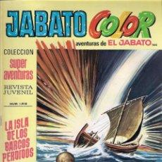 Tebeos: JABATO COLOR. 1ª ÉPOCA. Nº 166. LA ISLA DE LOS BARCOS PERDIDOS . 8 PESETAS. Lote 279369898