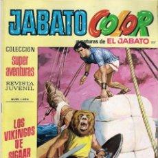 Tebeos: JABATO COLOR. 1ª ÉPOCA. Nº 137. LOS VIKINGOS DE SIGAAR . 8 PESETAS. Lote 279370118