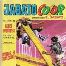 Tebeos: JABATO COLOR. 1ª ÉPOCA. Nº 98 . MUNG, EL IRASCIBLE . 8 PESETAS. Lote 279370328