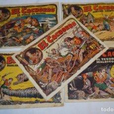 Livros de Banda Desenhada: EL CACHORRO - BRUGUERA / ORIGINAL AÑOS 50 / 5 EJEMPLARES / NÚM 24, 37, 39, 40 Y 49 - ¡MIRA! LOTE 01. Lote 279406338