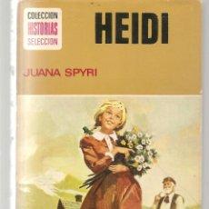 Tebeos: HISTORIA SELECCIÓN. MUJERCITAS. Nº 3. HEIDI. JUANA SPYRI. 8ª EDC. 1975.(Z/5). Lote 279407963