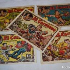 Livros de Banda Desenhada: EL CACHORRO - BRUGUERA / ORIGINAL AÑOS 50 / 5 EJEMPLARES / NÚM 50, 55, 60, 79 Y 85 - ¡MIRA! LOTE 02. Lote 279409258