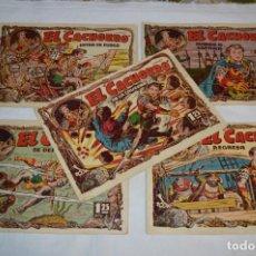 Livros de Banda Desenhada: EL CACHORRO - BRUGUERA / ORIGINAL AÑOS 50 / 5 EJEMPLARES / NÚM 87, 88, 90, 91 Y 92 - ¡MIRA! LOTE 03. Lote 279447978