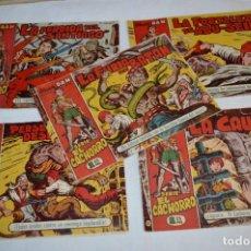 Livros de Banda Desenhada: EL CACHORRO - BRUGUERA / ORIGINAL AÑOS 50 / 5 EJEMPLARES / NÚM 103, 104, 105, 106 Y 107 - LOTE 05. Lote 279453443