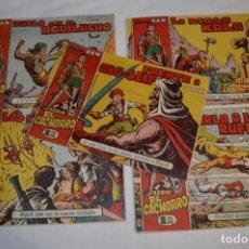 Livros de Banda Desenhada: EL CACHORRO - BRUGUERA / ORIGINAL AÑOS 50 / 5 EJEMPLARES / NÚM 108, 109, 110, 111 Y 112 - LOTE 06. Lote 279455408