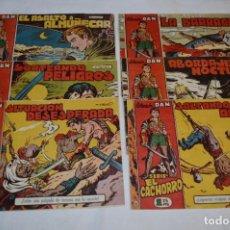 Livros de Banda Desenhada: EL CACHORRO - BRUGUERA / ORIGINAL AÑOS 50 / 6 EJEMPLARES / NÚM 113, 114, 115, 116, 117 Y 120 -LOTE 7. Lote 279457403