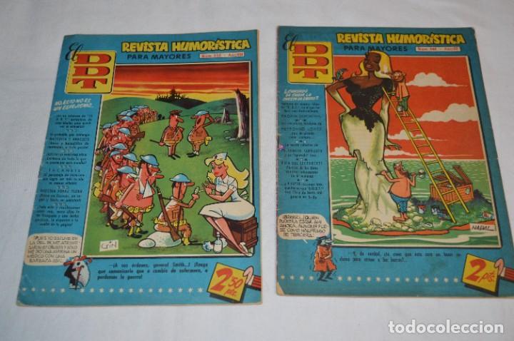 Tebeos: DDT - Bruguera / Original años 50 / 60 - 3 ALMANAQUES + 6 Revistas/Comics ¡Mira fotos y detalles! - Foto 3 - 279460793