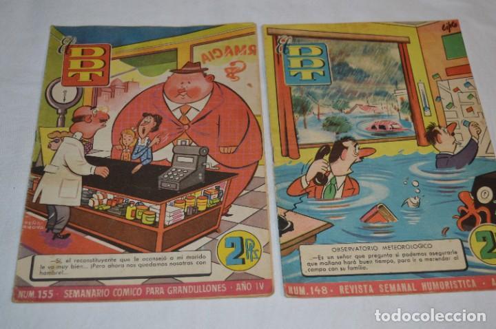 Tebeos: DDT - Bruguera / Original años 50 / 60 - 3 ALMANAQUES + 6 Revistas/Comics ¡Mira fotos y detalles! - Foto 7 - 279460793