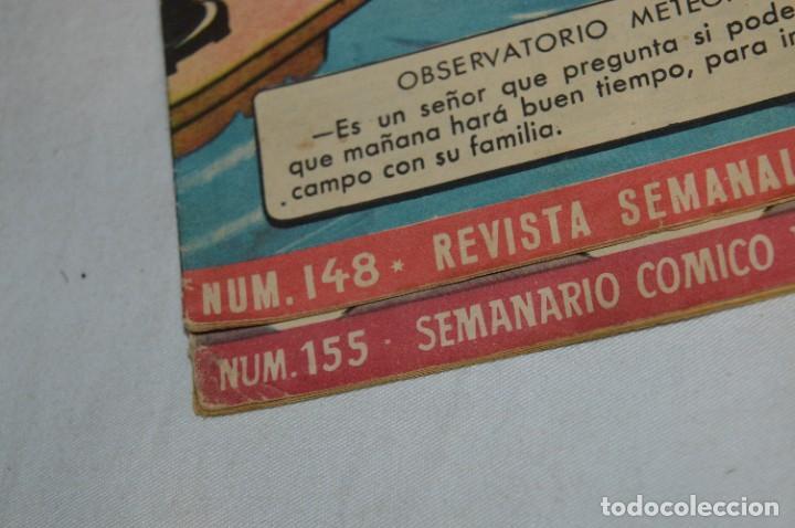 Tebeos: DDT - Bruguera / Original años 50 / 60 - 3 ALMANAQUES + 6 Revistas/Comics ¡Mira fotos y detalles! - Foto 9 - 279460793