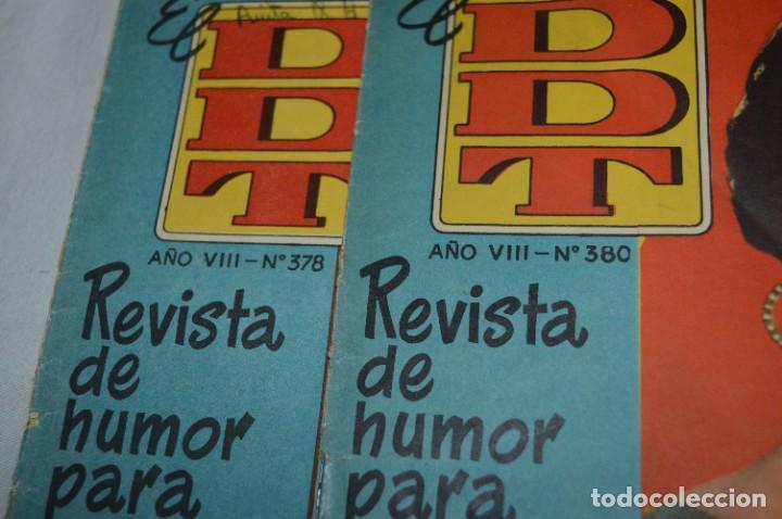 Tebeos: DDT - Bruguera / Original años 50 / 60 - 3 ALMANAQUES + 6 Revistas/Comics ¡Mira fotos y detalles! - Foto 15 - 279460793