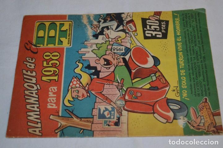 Tebeos: DDT - Bruguera / Original años 50 / 60 - 3 ALMANAQUES + 6 Revistas/Comics ¡Mira fotos y detalles! - Foto 17 - 279460793