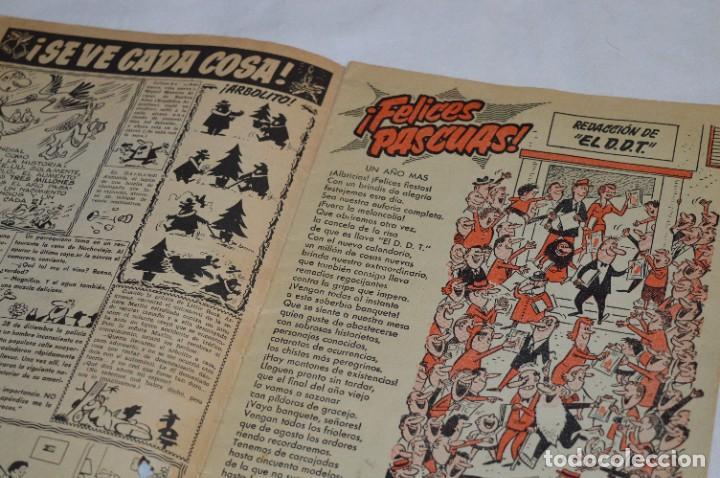 Tebeos: DDT - Bruguera / Original años 50 / 60 - 3 ALMANAQUES + 6 Revistas/Comics ¡Mira fotos y detalles! - Foto 20 - 279460793