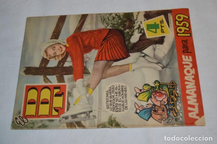 Tebeos: DDT - Bruguera / Original años 50 / 60 - 3 ALMANAQUES + 6 Revistas/Comics ¡Mira fotos y detalles! - Foto 24 - 279460793