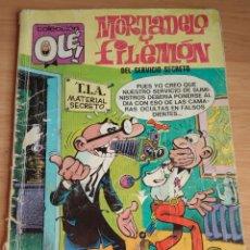 Tebeos: OLÉ! NM 116 1ª EDICION 1976. MORTADELO Y FILEMÓN, DEL SERVICIO SECRETO. Lote 279479618