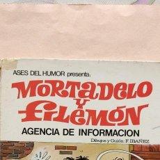 Tebeos: MORTADELO -OLE Nº 8 --1971. Lote 28289642