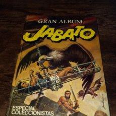 Tebeos: JABATO GRAN ALBUM ESPECIAL COLECCIONISTAS BRUGUERA TOMO NÚMERO 1. Lote 279575403