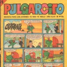 Tebeos: PULGARCITO. REVISTA PARA LOS JOVENES. Nº1889 AÑO XLVII. A-COMIC-6322. Lote 279593668