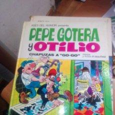 Giornalini: ASES HUMOR Nº 21 PEPE GOTERA. BRUGUERA EDICIÓN 1973. DIFÍCIL!!!!!!!!. Lote 280555888