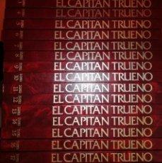 Tebeos: EL CAPITÁN TRUENO - EDICIÓN HISTÓRICA - COLECCIÓN COMPLETA EN 18 TOMOS TAPA DURA - EDICIONES B 1987. Lote 280656788