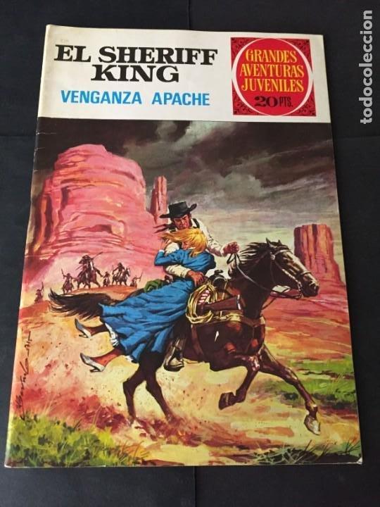 CÓMICS . EL SHERIFF KING Nº 12 EL DE LAS FOTOS VER TODOS MIS TEBEOS Y COMICS (Tebeos y Comics - Bruguera - Sheriff King)