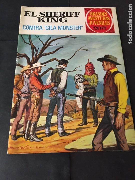 CÓMICS . EL SHERIFF KING Nº 24 EL DE LAS FOTOS VER TODOS MIS TEBEOS Y COMICS (Tebeos y Comics - Bruguera - Sheriff King)