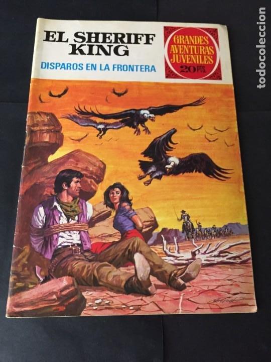 COMICS .EL SHERIFF KING Nº 2 EL DE LAS FOTOS VER TODOS MIS TEBEOS Y COMICS (Tebeos y Comics - Bruguera - Sheriff King)