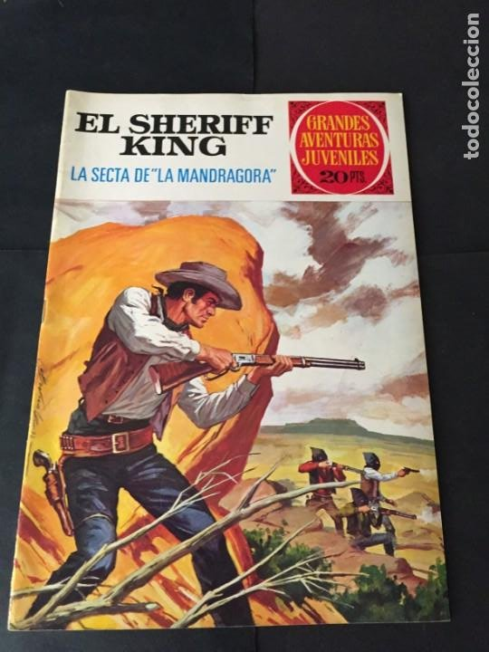CÓMICS . EL SHERIFF KING Nº 30 EL DE LAS FOTOS VER TODOS MIS TEBEOS Y COMICS (Tebeos y Comics - Bruguera - Sheriff King)