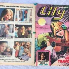 Tebeos: LILY REVISTA JUVENIL Nº 919 1979, PUBLICIDAD NANCY, POSTER DE JOHN TRAVOLTA. Lote 281004698