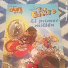 BDs: LA JUVENTUD DE TÍO GILITO. EL PRIMER MILLÓN. OLÉ DISNEY Nº 36. 1ª EDICIÓN JULIO 1997.. Lote 281828868