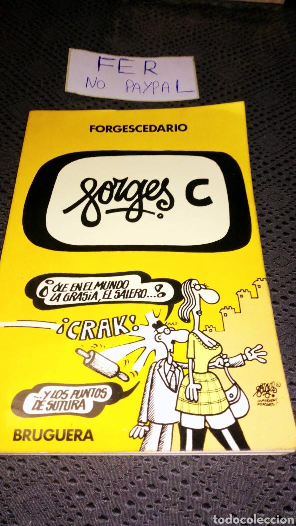 FORGESCEDARIO BRUGUERA 1979 LETRA C (Tebeos y Comics - Bruguera - Cuadernillos Varios)