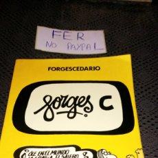 Tebeos: FORGESCEDARIO BRUGUERA 1979 LETRA C. Lote 282079348