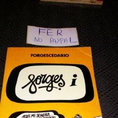 Tebeos: FORGESCEDARIO BRUGUERA 1979 LETRA I LOMO CON ALGUNA DOBLEZ INTERIOR OK. Lote 282079523