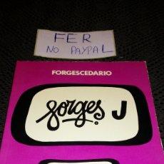 Tebeos: FORGESCEDARIO BRUGUERA 1979 LETRA J. Lote 282079563