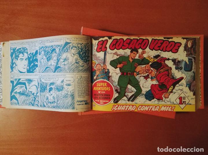 Tebeos: EL COSACO VERDE EDITORIAL BRUGUERA Completa 144 Nº en tres tomos - Foto 5 - 214490122