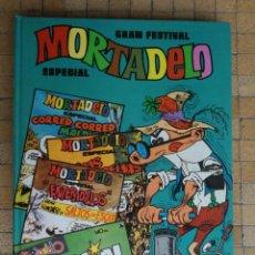 BDs: GRAN FESTIVAL MORTADELO ESPECIAL - EDITORIAL BRUGUERA AÑO 1985. Lote 282257673
