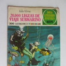 Livros de Banda Desenhada: JOYAS LITERARIAS JUVENILES Nº 4: 20.000 LEGUAS DE VIAJE SUBMARINO / BRUGUERA ARX135. Lote 282545053