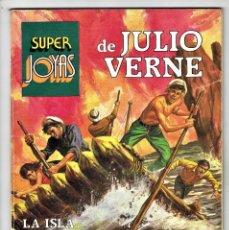 Tebeos: SUPER JOYAS - JULIO VERNE Nº 5 - LA ISLA MISTERIOSA, ETC... BRUGUERA 2ª EDICIÓN 1984. Lote 283211318